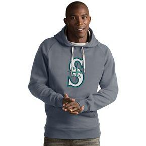 Men's Antigua Seattle Mariners Victory Logo Hoodie