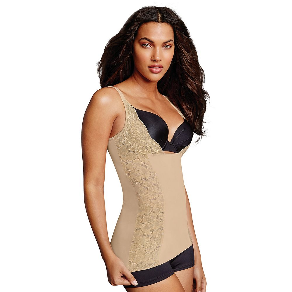 Maidenform Shapewear Firm Foundations Wear Your Own Bra Torsette DM5002