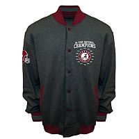 Men's Franchise Club Alabama Crimson Tide Classic Commemorative Varsity Jacket
