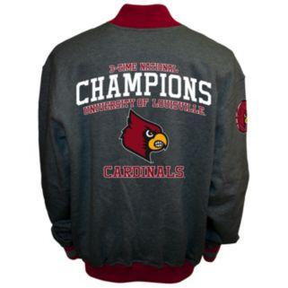 Men's Franchise Club Louisville Cardinals Classic Commemorative Varsity Jacket