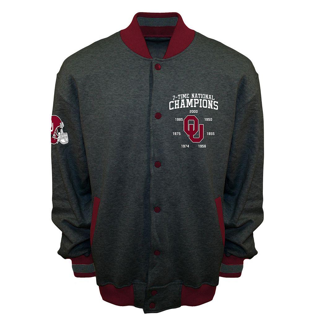 Men's Franchise Club Oklahoma Sooners Classic Commemorative Varsity Jacket