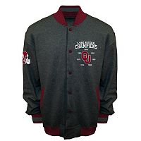 Men's Franchise Club Oklahoma Sooners Classic Commemorative Varsity Jacket