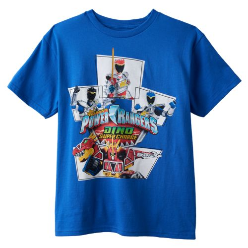 Boys 8-20 Mighty Morphin Power Rangers Tee