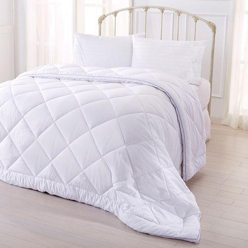 Hayden Collection Seersucker Down Alternative Comforter