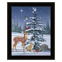 Christmas Gathering Framed Wall Art