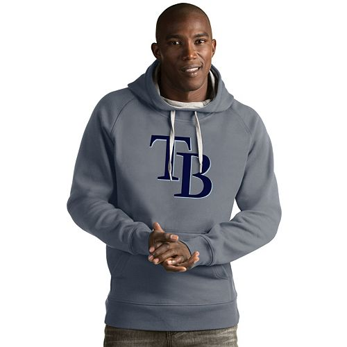 Men's Antigua Tampa Bay Rays Victory Logo Hoodie