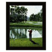 Golf Course 9 Framed Wall Art