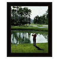 Golf Course 9 Framed Wall Art