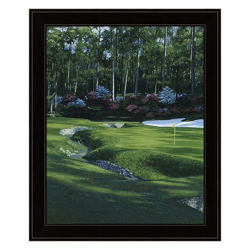 Golf Course 4 Framed Wall Art