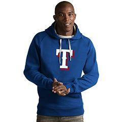 Men's Antigua Texas Rangers Victory Logo Hoodie