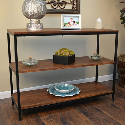 Braydon 3-Shelf Console Table