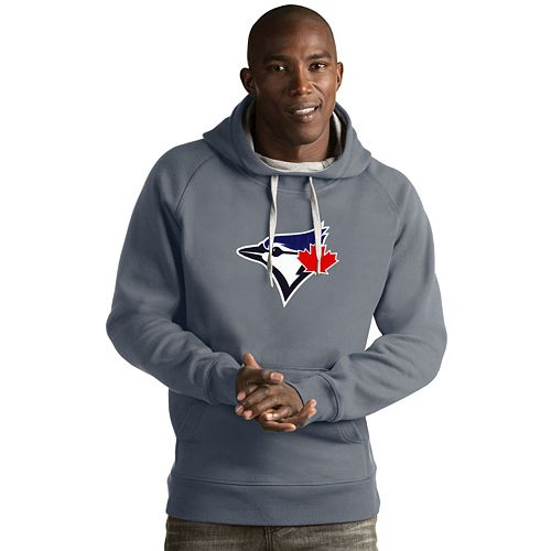 Men's Antigua Toronto Blue Jays Victory Logo Hoodie