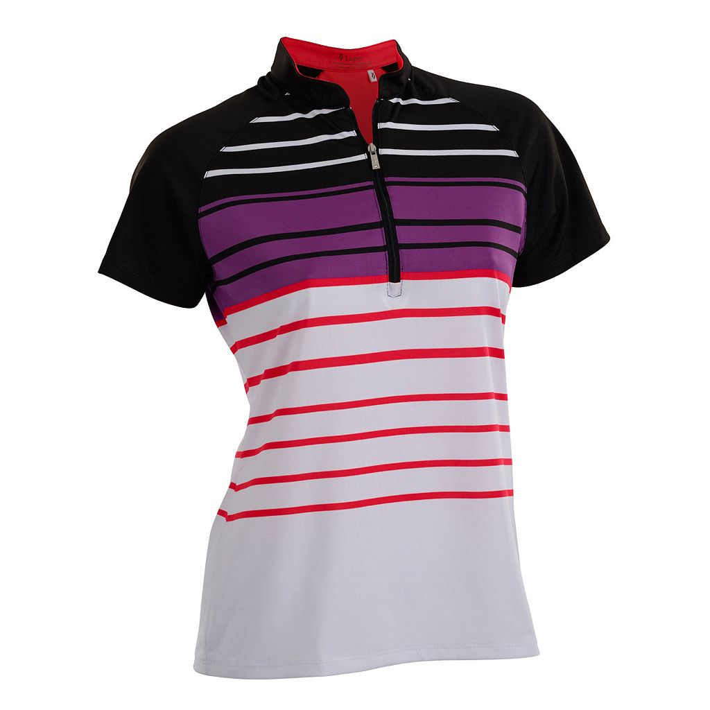 Women's Nancy Lopez Point Short Sleeve Golf Polo