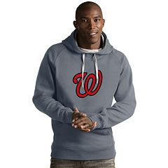 Men's Antigua Washington Nationals Victory Logo Hoodie