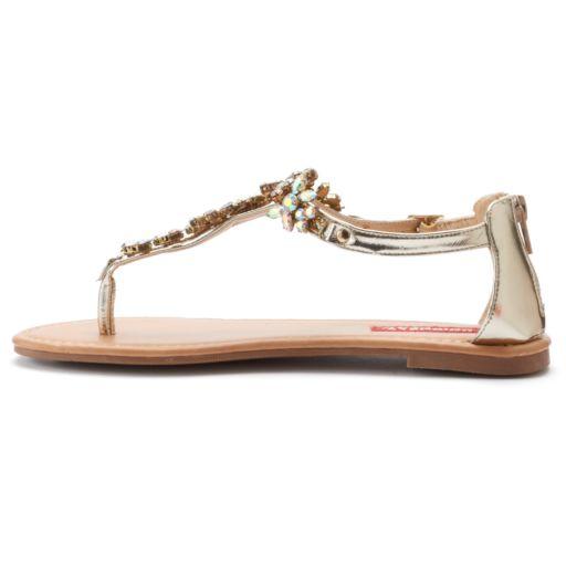 Unionbay Women's T-Strap Sandals