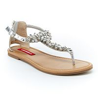 Unionbay Women's T-Strap Sandals
