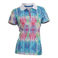 Women's Nancy Lopez Birdie Short Sleeve Golf Polo