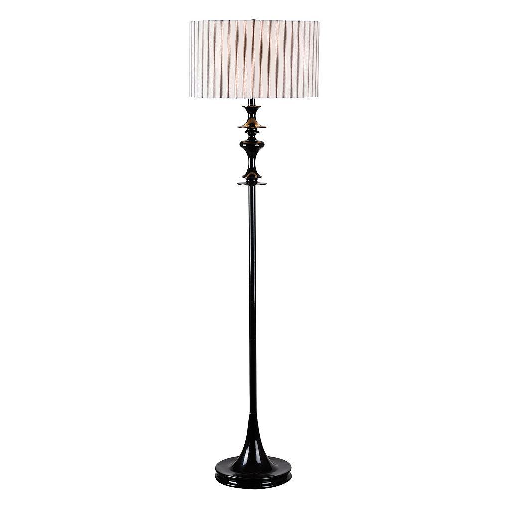 Kenroy Home Striped Floor Lamp