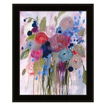 Fresh Bouquet Framed Wall Art