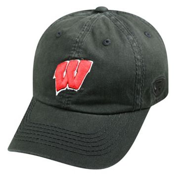 Youth Top of the World Wisconsin Badgers Crew Baseball Cap