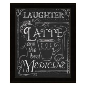 """""""Laughter And Latte"""" Framed Wall Art"""
