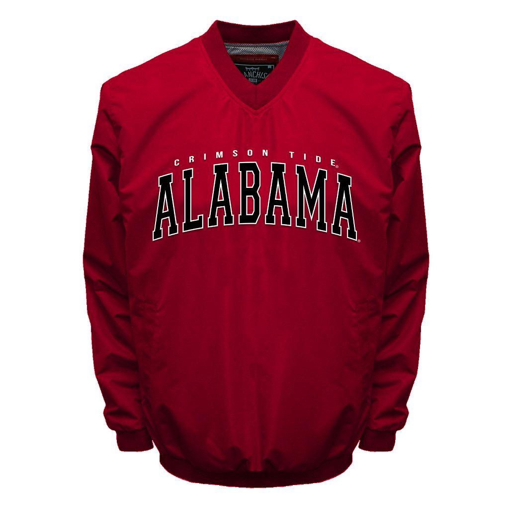 Men's Franchise Club Alabama Crimson Tide Squad Windshell Jacket