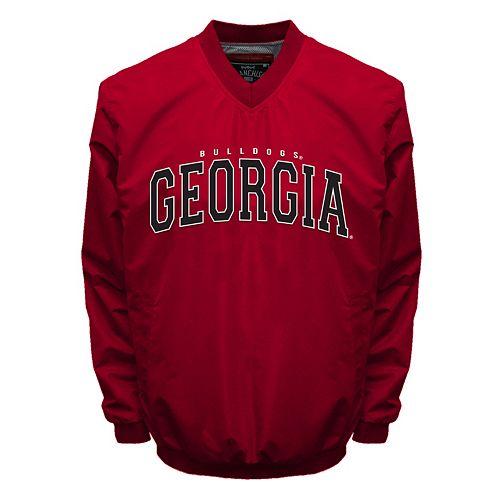 Men's Franchise Club Georgia Bulldogs Squad Windshell Jacket