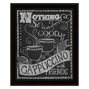 """""""Cappuccino"""" Framed Wall Art"""