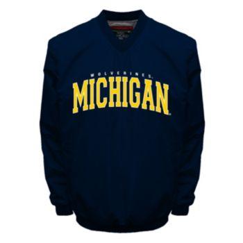 Men's Franchise Club Michigan Wolverines Squad Windshell Jacket