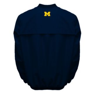Men's Franchise Club Michigan Wolverines Squad Windshell Jacket