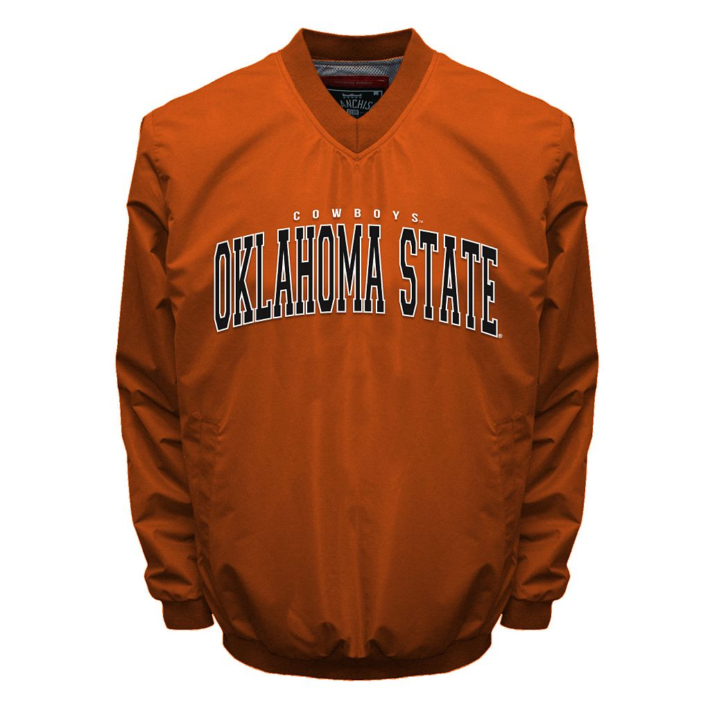 Men's Franchise Club Oklahoma State Cowboys Squad Windshell Jacket