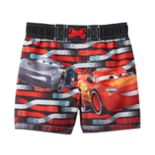 Disney / Pixar Cars 3 Lightning McQueen Baby Boy Swim Shorts