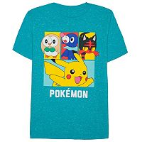 Boys 8-20 Pokemon Group Tee