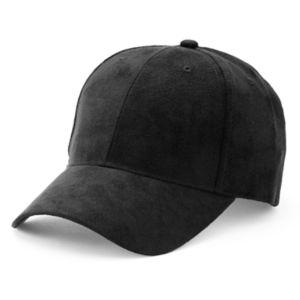 Women's Mudd® Faux Suede Baseball Hat