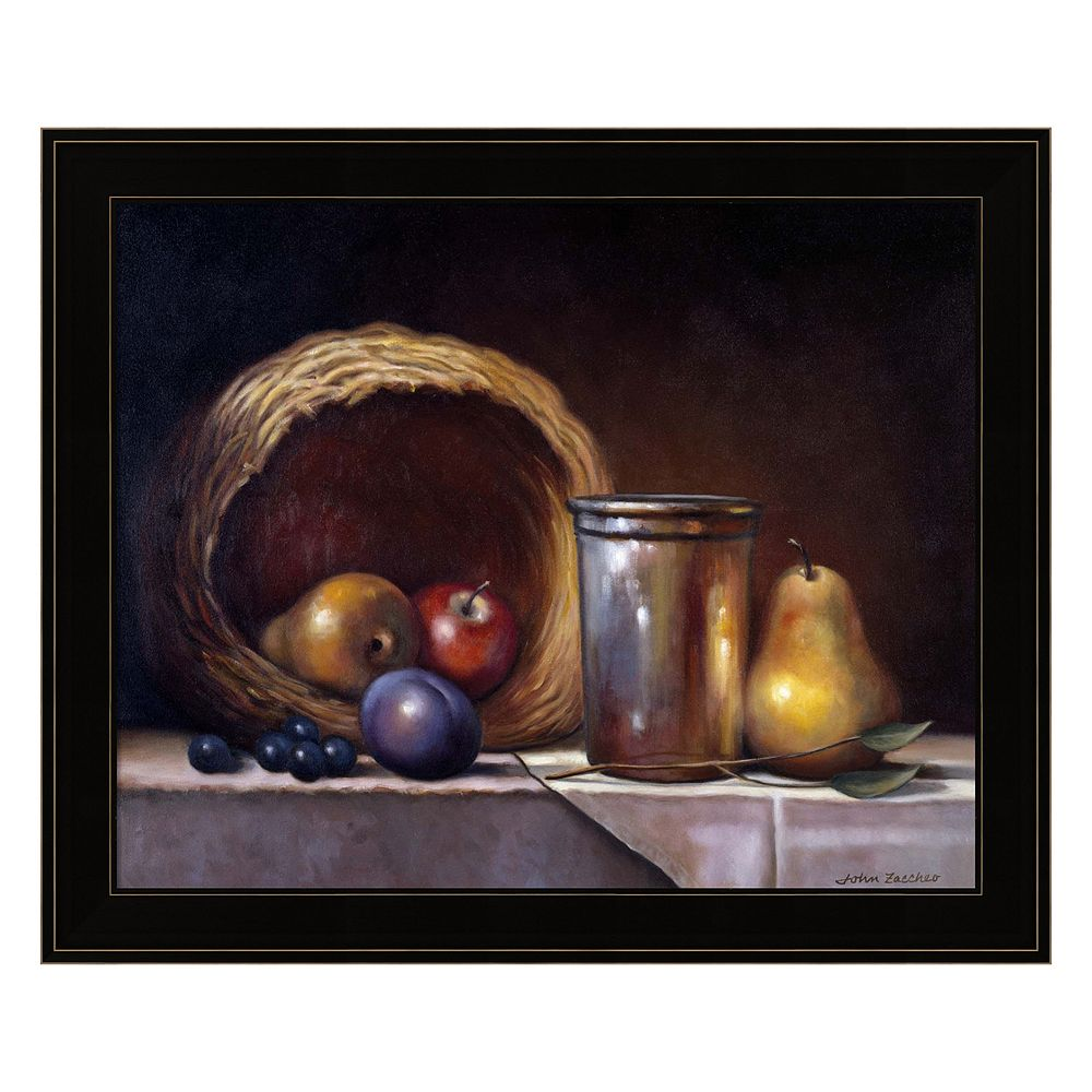 Still Life Symphony Framed Wall Art