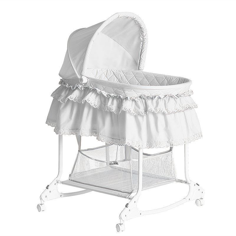 Dream On Me Willow Bassinet, Pink Now $33.99 (Was $81.99)