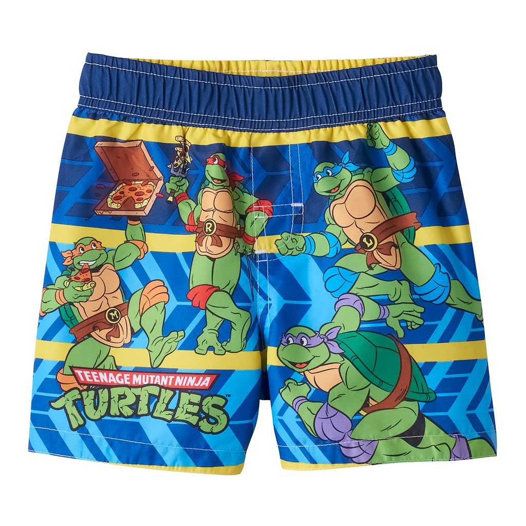 Baby Boy Teenage Mutant Ninja Turtles Swim Trunks