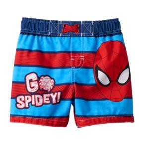 Marvel Spider-Man Baby Boy Swim Trunks