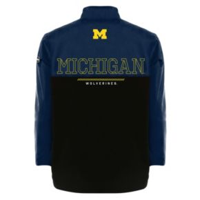 Men's Franchise Club Michigan Wolverines All-Cover Pullover