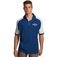 Men's Antigua Chicago Cubs 2016 World Series Champions Century Polo