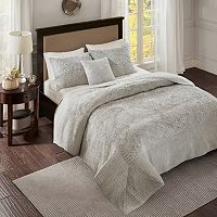 Madison Park 4-piece Peony Coverlet Set