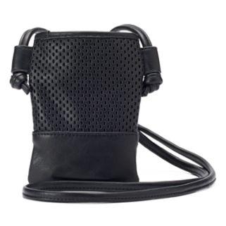 madden NYC Logan Mesh Cell Phone Crossbody Bag