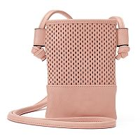 madden NYC Logan Mesh Cell Phone Crossbody Bag