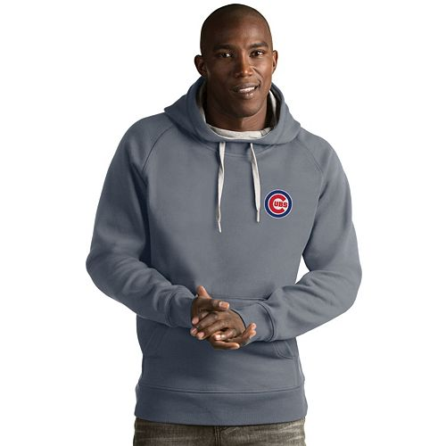 Men's Antigua Chicago Cubs Victory Pullover Hoodie