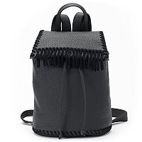 madden NYC Hazel Fringed Backpack