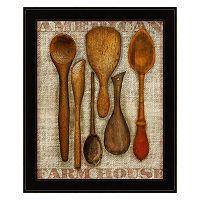 Wooden Spoons Framed Wall Art