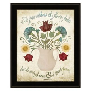 """Flower Fades"" Framed Wall Art"