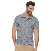 Men's Marc Anthony Slim-Fit Shadow Dye Feeder-Striped Polo