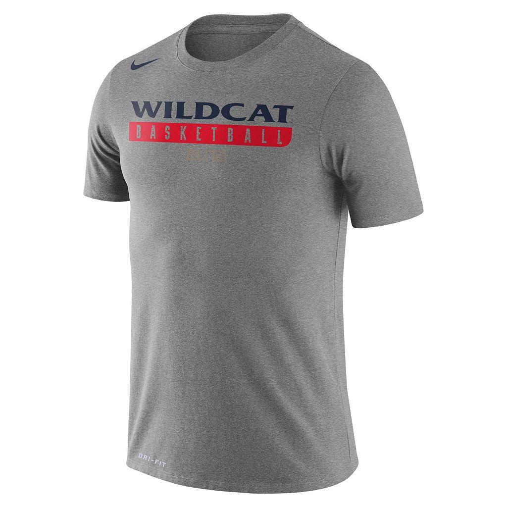 Men's Nike Arizona Wildcats Basketball Practice Dri-FIT Tee