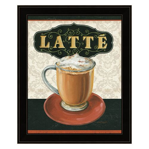 Coffee Moment II Framed Wall Art